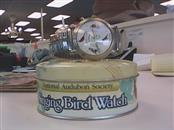 NATIONAL AUDUBON SOCIETY Gent's Wristwatch SINGING BIRD WATCH